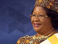 Joyce Banda at NAFSA 2018