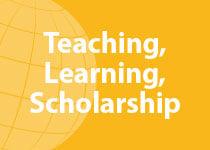 Teaching Learning Scholarship