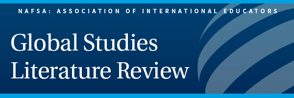 buy world affairs literature review