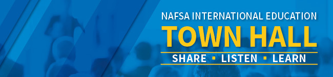 NAFSA International Education Town Hall