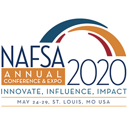 NAFSA 2020 takes place in St. Louis, Missouri May 24-29