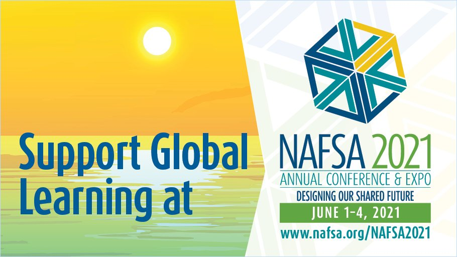 Support Global Learning at NAFSA 2021