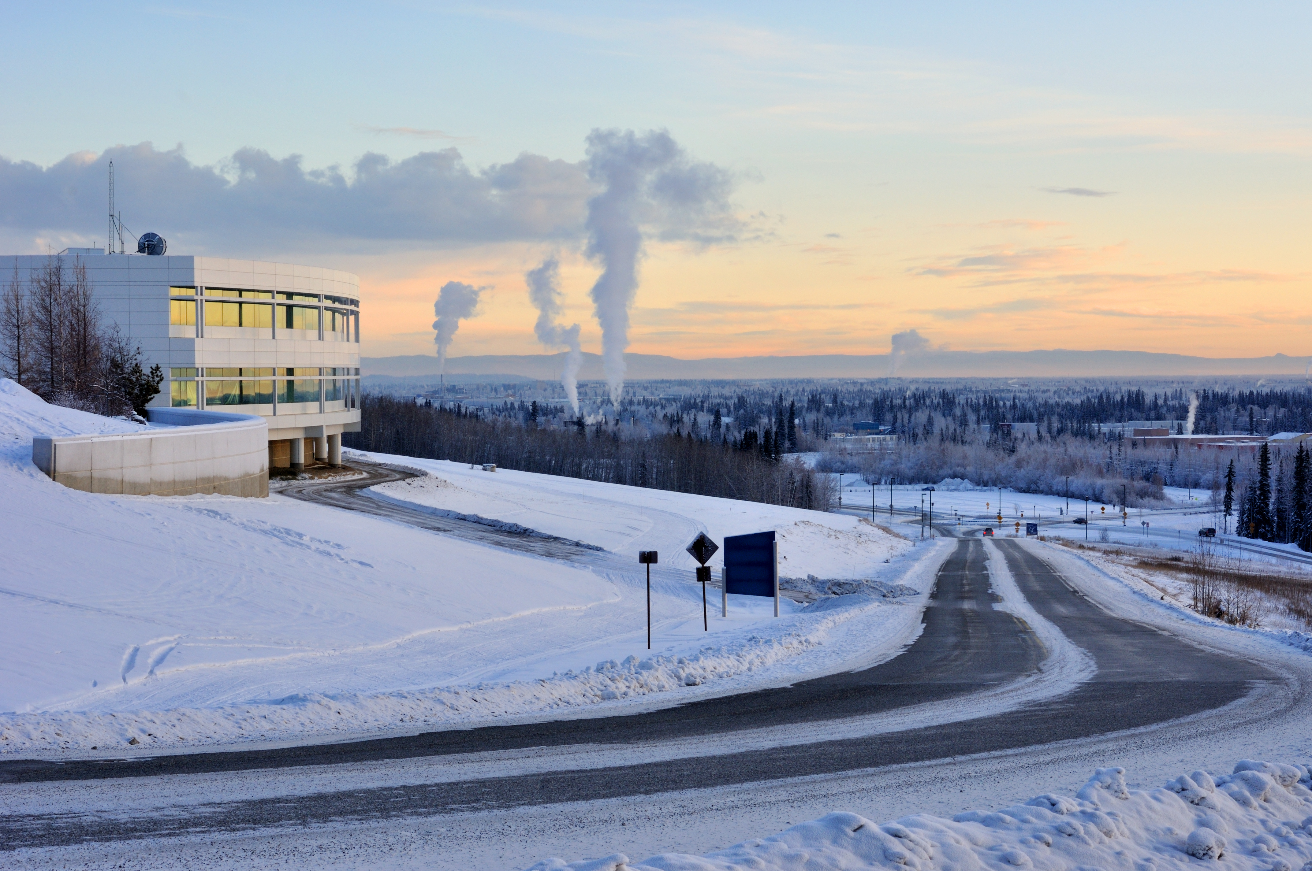 University of Alaska-Fairbanks campus