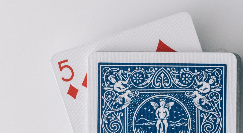 5 of diamonds playing card