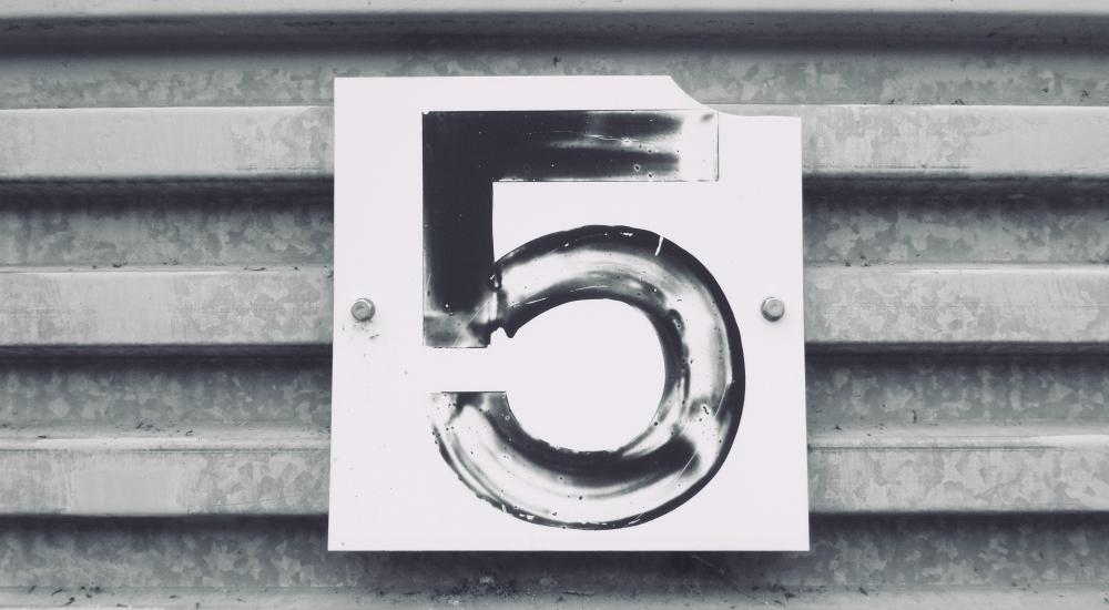numeral 5