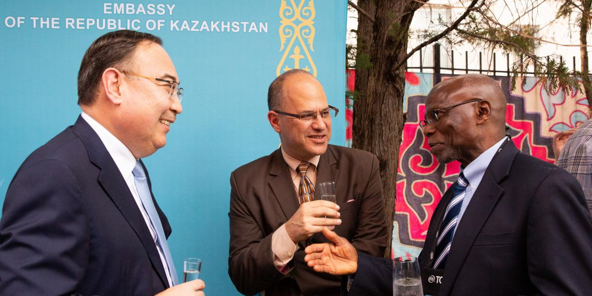 Embassy Evening participants at Embassy of Kazakhstan