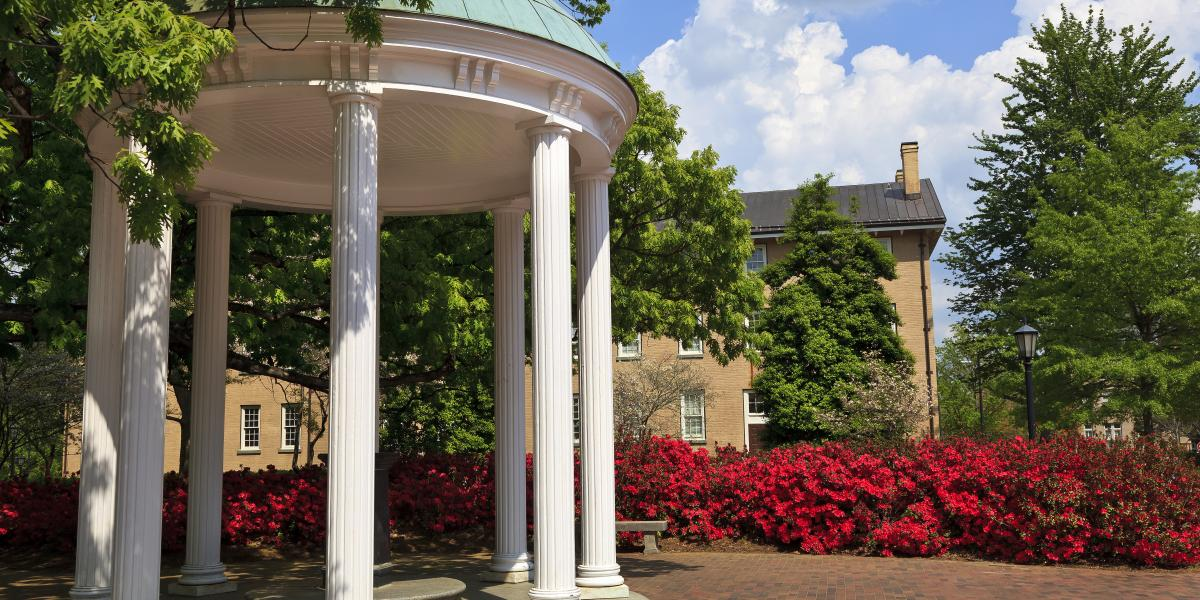 The campus of University of North Carolina at Chapel Hill