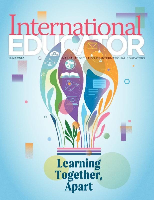 Cover for the June 2020 issue of International Educator