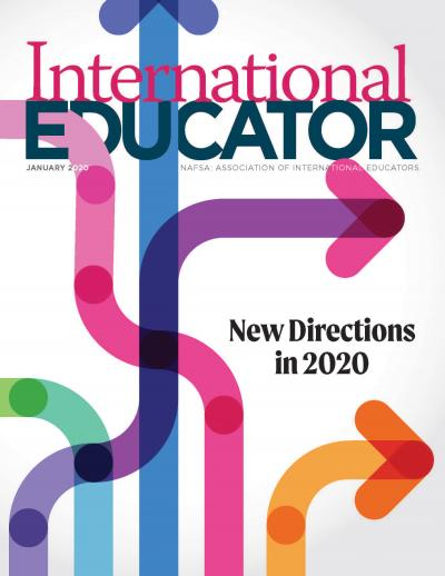 Cover for the January 2020 issue of IE