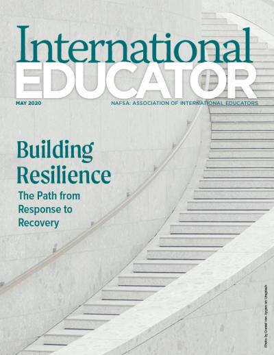 May 2020 cover of IE magazine