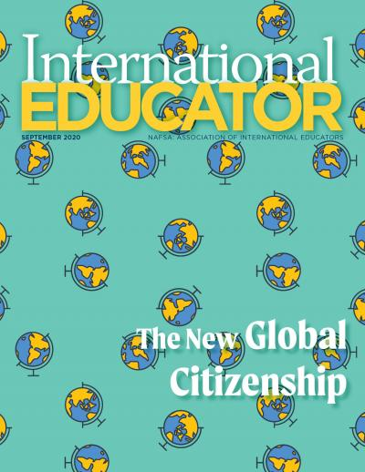 Cover of the September 2020 issue of International Educator magazine