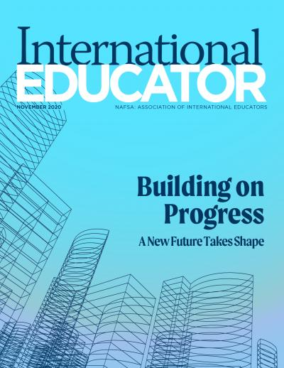 Cover for the November 2020 issue of International Educator