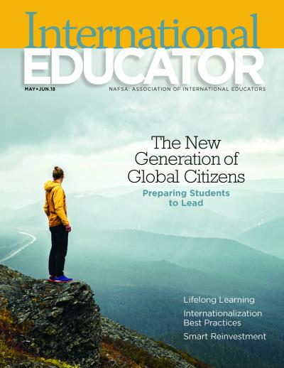 Cover of the May June 2018 issue