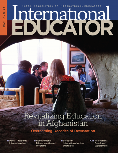cover image for the july august 2014 issue
