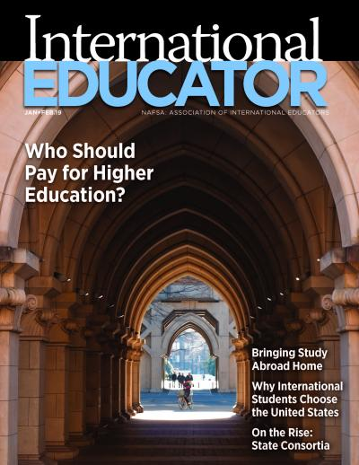 Cover image for the January February 2019 issue of IE.