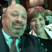 Sherif and Kathy at the DC Conference