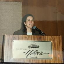 Kathy Hammett at the 1995 conference